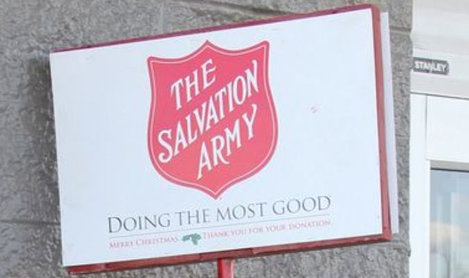 NO BELLS RINGING – The local unit of The Salvation Army has seen very few volunteers for the Red Kettle collection at the Potosi Walmart. The funds collected support Washington County residents throughout the year when in need.