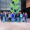 Canton FFA members traveled to Saint Louis Missouri to tour Monsanto.