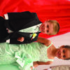 Grady Uhlmeyer and Breonna Abbey were part of the Canton Prom Court.