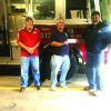 Eric Happekotte from the Missouri Department of Conservation, Forestry Division, presented a check to the Western Lewis County Fire Protection District. Accepting the funds were Harry Scifres and Bill Geisendorfer.