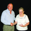 Missouri 4-H Foundation Trustee Dale Ludwig with Lewis County 4-H volunteer Donna Lawson. Photo credit: Amanda Stapp