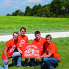 """Lewis County C-1 FFA members will be distributing yard signs to remind motorists to """"Start Seeing Tractors."""""""