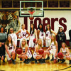 Front Row Left to Right:  Riley Marshall, Olivia Ford, Tegan Burbridge, Laken Hugenberg, Kenzie Guilfoyle, Emilie Gorrell .Back Row Left to Right:Coach Danille Baker, Manager Halli Otte, Lauren Frazier, Abby Jarvis, Raven Weathers, Brylin Pearl, Manager Allison Dawson, and Coach Sarah Mueller