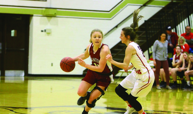 The Canton Lady Tigers faced Clark County in the first round of the annual Highland Tournament.