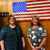 Many of the local elected officials will be at the fair. Pictured is the Lewis County Collector Denise Goodwin and deputy collector Donnette Carter. They look forward to visiting with everyone.