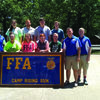 Several Canton FFA members attended the State FFA Leadership Camp