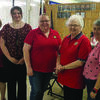 Installation of new American Legion Auxiliary District 1 officers for the upcoming two year term was held.  Pictured are left to right: Victoria Ornelas, Installing Officer, of Hannibal; Gail Dietrich, Chaplain, of Lewistown; Jessica Clay, Asst. Sgt. at Arms, of Paris; Charlotte Weaver, Sgt. at Arms, of Callao; Wanda Burnett, Secretary and Treasurer, of Macon; Michele Emmerich, Vice-President, of Macon and Linda Maddox, President, of Callao.