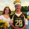 Highland 2019 Homecoming Queen Kenzie Rutledge and  King JT McDermott.