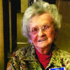 Betty Horner, 98 years old, is a 44 year member of the U.M.W. and was honored recently.