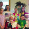 The Fifer grandchildren were surprised by Santa and Mrs. Claus last weekend while the children were decorating at their grandparents.