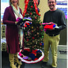 American Family Agent Kimberly Daniel and Greg Westhoff of Peoples Bank, Canton branch.