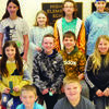 Members of the Highland Math Team were: Fourth grade: Heath Feldkamp, Virginia Fifer, Cooper Sedelmeier, and Claire Wiskirchen. Fifth grade:  Sawyer Harshberger, Hannah Ritterbusch, Keera Rothweiler, and Hunter Vorce. Sixth grade: Dominic Cottrell, Bailie Crist, Morgan Crist, and Chloe Speer