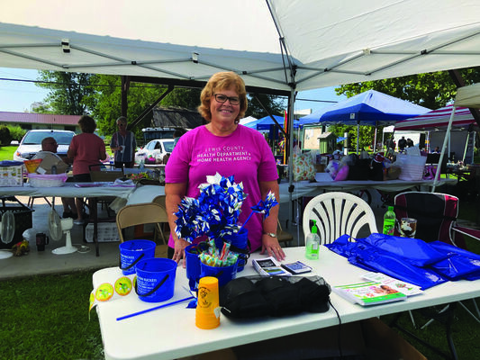 Diane Lay from the Lewis County Health Department