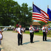 Lewis County Memorial Legion Post Unit 578 held a special ceremony during the Lewistown parade remembering the tragedy of September 11, 2001.