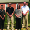 Members of the Lewis County Endowment Fund Council pictured are: Luke Royhweiler, Carolyn Schaller Carolyn Schaller Virgil Welker, Anne Fryer Jake Brewer and also pictured is Heath Richmond, from the Community Foundation.