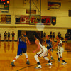The Highland Lady Cougars faced Brookfield on Jan. 29 and won the game 50-21.
