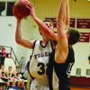 The Canton Tigers faced Mark Twain in a home game at Canton.. The Tigers won 72-55.