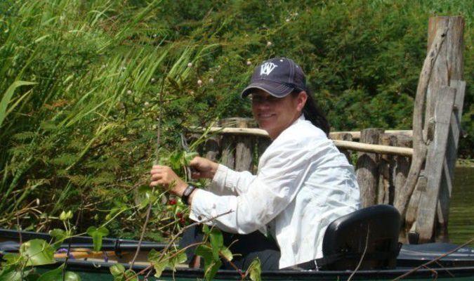 North East Community Action Corporation (NECAC) Ralls County Service Coordinator Dr. LeAndra Bridgeman observes howler monkeys in Mexico.