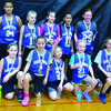 Mark Twain girls third grade placed second in the Community R-6 Tournament. Back row from left are Randi Harris, Alizabeth Lamont, Maylie Boling, and Adalynne Means. Front row from left are Delaney Moss, Lexi Preston, Lilly Martin, Bella Hawkins, and Marin Mallory.