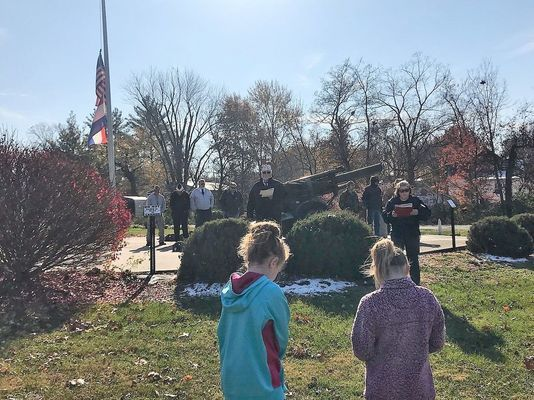 Perry VFW Post Holds Veterans Day Ceremony