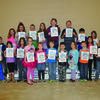 February Habit Heroes are pictured front row from left Bennett Bogue, Holly Humphrey, Emma Zumwalt, Cheyenne Fessenden, Evie Snodgrass, Jorden Armour, Liam Romig, Georgia Beer, Alex Evans, Ava Ebers, and Tommy Gooding. Back Row from left are Mason DeLaPorte, Hailee Young, Madison Boleach, Coden Miller, Isabella Lehenbauer, Samantha Barnes, Ashton Willing, Lincoln LaFontaine,and Ava Roberts.
