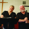 Susie McGee and Dennis Routt presented the program on Sacred Music to the Perry Musique Club on April 17 at South Fork Presbyterian.