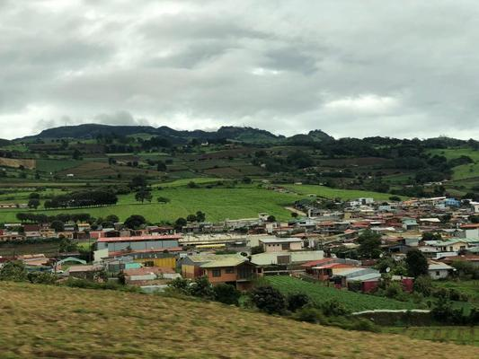 This is a small town near the area where Hannah taught in Costa Rica.