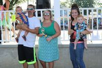 The 2019 Boys Bathing Cuties Center Park Days winners are from left Jackson Watkins, 1st place and Lane McGrath, 2nd place.