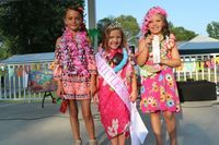 The 2019 Little Miss Center Park Days winners are from left Jacklyn Albright, 2nd place; Brylee Howald, 1st place; and Alexis Elliott, 3rd place.