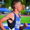 Devin Neff finished 4th in the 3200-meter run at the State Track Meet in Jefferson City on May 20.