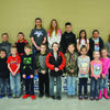 Ralls County Elementary Habit Heroes are front row from left Emma Hodges, Landon Pease, Alex Bryan, Kasen Evans, Brody Colbert, David Niffen, Alexis Misner, Madilyn Romig, Brooklyn Black, Grace Prewitt, and Alyssa Schneider. Back Row from left are Nolan Epperson, John Misner, Alexis Ward, Brook Doughty, Aaron Presson, Sonja Powell, Marli Liter, and Regan Thompson.