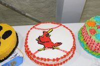 Rachel Hodges's Cake Decorating exhibit.