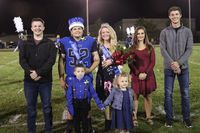 2019 Homecoming King Kameron Asquith and Queen Olivia Graves