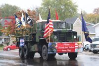 Perry VFW Post #4088 leads the Perry Falls Festival parade.