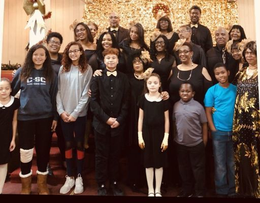 Members of the Music Department of Second Christian Church of New London.