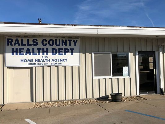 Ralls County Health Department is located at 405 West First Street in New London.