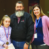 Ray Willingham of Perry presented a check from Orscheln's to his granddaughter (Kaylee Armour) and daughter (Jessica Armour) during the morning assembly at RCE this past week.  Mr. Willingham received the funds from Orscheln's after attending an event at RCE. Orscheln supports local schools by encouraging its employees to attend family events with their families. RCE greatly appreciates the support given by Orschelns.