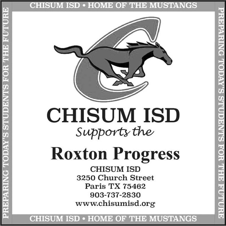 CHISUM ISD Supports RP