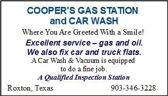 Cooper gas