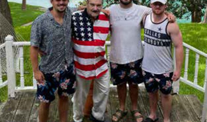 Cash Cooper, Doug Cooper, David Coble, and Jack Fee