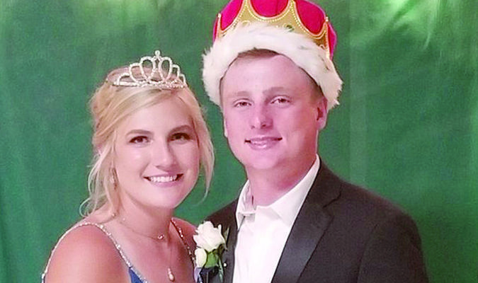 The 2020 South Shelby Prom King and Queen were announced Saturday night at South Shelby. The Queen is Josie Hammond, daughter of Sandra Totten and Kevin and Becky Hammond. The King is Kanon Kendrick, son of Kyle and Theresa Kendrick.