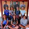 South Shelby Homecoming Candidates and attendants are pictured above. They are (front row, left to right) Junior Attendant, Zoey Elliott; Sophomore Attendent Elena Escamilla and Freshman Attendent  Shelby Buckman. (Middle Row) Queen Candidates Emilee Barr, Emma Dovin, Melanna Eagan and Marisa Rubison (Back Row) Mr. Football Candidates  Wyatt Owens,  Charlie Hall, Rowan Burke and Levi Blevins.                        Photo by Thad Requet, Shelbina Weekly