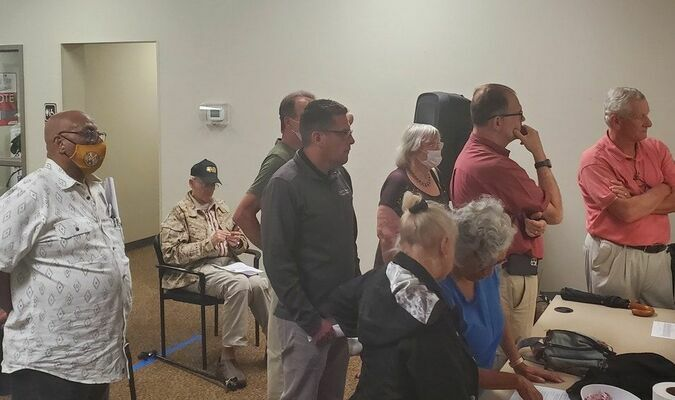 Florence County Voter Registration And Election Commission held a public meeting on August 3, 2021, but refuse to address internal hiring and commission make-up.