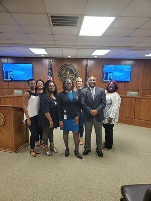 Class of 2021 Emerging Leaders Summer Institute joined by City of Florence Mayor Teresa Myers-Ervin