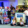 Members of the new Senior Theatre Company - The Flo-Town Wisdom Players