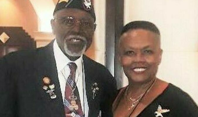 Sgt. Wheeler Samuel Small Jr. with his wife Dr. Tina Barnes-Small