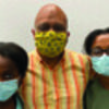 Dr. Mann and daughters – Gabrielle, 15, and Brooke, 13 - to receive the lifesaving vaccine