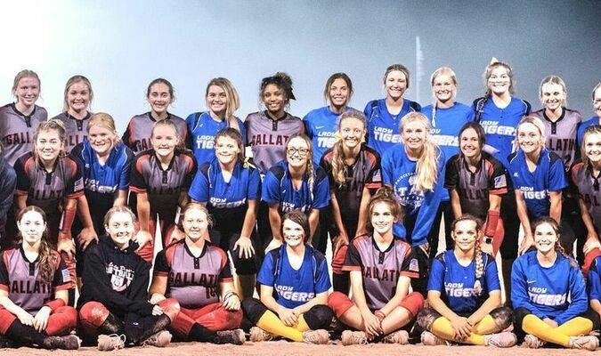 Gallatin and Princeton Varsity Softball Teams