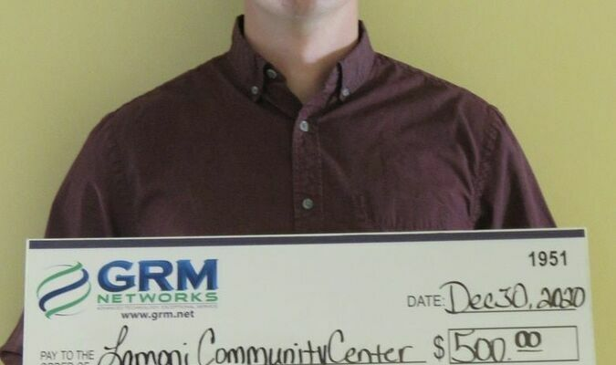 Also receiving a $500 grant was the Lamoni Community Center. The grant will help with ongoing renovations to the Community Center by replacing a leaking refrigerator.