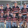 TRENTON 12 U BASEBALL TEAM front row L-R: Mehki Smith, Kaeden Tobin, Brady Twenhafel, Hayden Melone and Lucas Harriss. Back row L-R: Coach Ron Peterson, Layne Hays, Matthew Potthast, Gavin Rahm, Ayden Peterson, Bryce Haar and Coach Mike Harriss Not pictured: Spencer Kuhn and Coaches Jarrod Tobin and Pete Melone. Through fundraising efforts and generous donations from business sponsors in our community, we were able to play a full season of baseball. The team was able to give back by helping sponsor the Clinton County Snackpack Program at our local schools. Teaching the boys the game of baseball, but also to be generous in our communities is important.